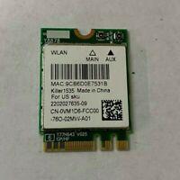 OEM DELL Alienware 17 R3 Wireless Bluetooth 4.0 Card P/N VM1D6 WLAN 802.11ac M.2