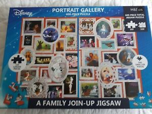 NEW M&S Disney multi 600 Piece join up family children Adults jigsaw