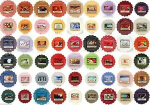 Yankee Candle Fresh 13 Different Variation Scent Wax Tarts Melts free P&P