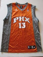Adidas NBA Phoenix Suns13 Nash Satin Finish Sleeveless Jersey Shirt Men's L MT27