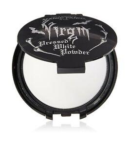 Manic Panic Virgin White Pressed Powder Compact Gothic Vampire