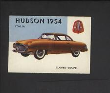 1954 Topps World on Wheels High Number #166 Hudson Italia NO Creases!