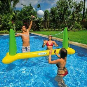 Jeux D'eau Filet De Volley-ball Flottant avec ballon pour Piscine ou mer