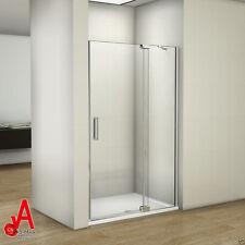 1000x1950mm Frameless Shower Screen Pivot Door  Fits 920-1020mm Wall to Wall Gap