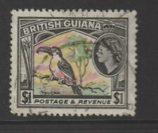 BRITISH GUIANA SG343  $1 stamp  in a good condition used
