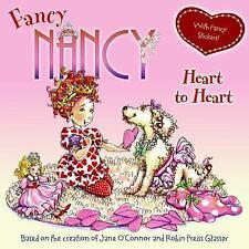 Fancy Nancy HEART TO HEART Book+Stickers NEW BOOK EBAY BEST PRICE!!!