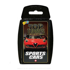 P4018 Winning Moves - Sports Cars Top TRUMPS Card Game
