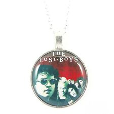 THE LOST BOYS POSTER NECKLACE vampires cult movie horror halloween fangs film