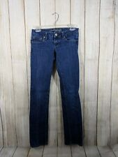 American Eagle Womens Size 0 Regular Stretch Straight 77 Jeans