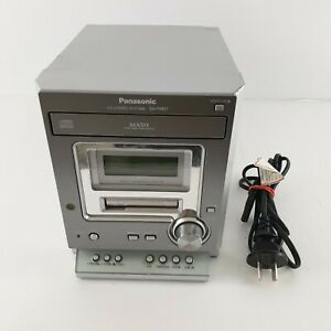 PANASONIC SA-PM07 Stereo System Micro CD AM/FM Radio Cassette Deck *No Speakers*