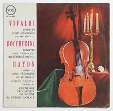 GASPAR CASSADO Vivaldi Boccherini Haydn cello concertos france french vox FD LP
