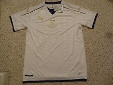 NWT Puma 2016/2017 Italy White Tribute Away Jersey (Men Size Large)