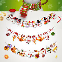 Christmas Banner Merry Christmas Decoration Home Xmas Tree Gift Happy New Year