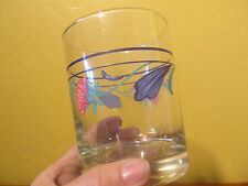 "LENOX ""POPPIES ON BLUE"" DOUBLE OLD FASHIONEDS 12 OZ.   $128 VALUE"