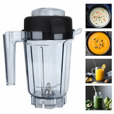 32oz Transparent Blender Container Cup Lid Blade Replacement Access for Vitamix