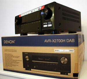 Denon AVR-X2700H DAB / AVRX2700HDABBKE2 / AV-Receiver - NEW!