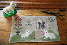 Rest in the Lord Stitcher's Scissor Mat Scattered Seed Cross Stitch Pattern