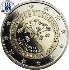 Polierte Platte Bi-Metall Münzen aus Slowenien nach Euro-Einführung