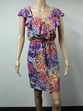 NEW - Calvin Klein - Size US 4 - Sleeveless Dress - Printed Multicolored $118