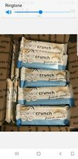 Power Crunch Protein Energy 12 Bars 1.4oz  French Vanilla Creme Exp 04/2021