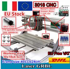【IT&DE】3018 DIY Mini CNC Laser Machine Engraving Milling Wood Router+ER11 Collet