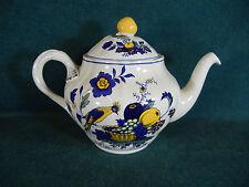 """Spode Blue Bird S3274 Medium 6 1/8"""" Tall Tea Pot with Lid"""