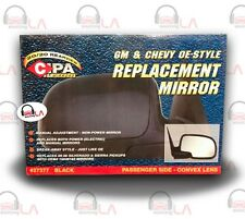 CIPA Mirrors GM & Chevy OE-Style Replacement Mirror Black Convex Lens #273777