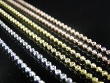 Collares y colgantes de bisutería cadena de color principal amarillo oro amarillo