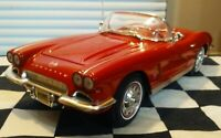 1/18 Scale Diecast ERTL 1962 Chevy Corvette Convertible