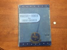 1945 WWII Moresby to Manila Via Troop Carrier Book Army Air Forces AAF Pacific