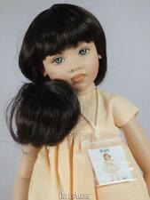 """Long Wavy Doll Wig Fits Vintage And Modern Dolls Size 7/8"""""""