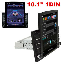 Adjustable 10in Car Stereo Radio Android 8.1 1Din 2GB+32GB Wifi GPS Mirror Link