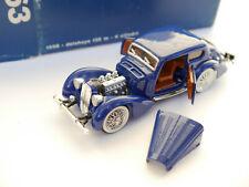 1938 Delahaye 135 m Coupe in blau bleu blu blue, Rio in 1:43 boxed!