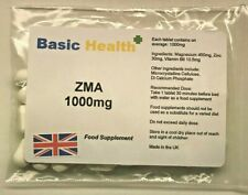 ZMA 60 x 1000mg Vegetarian Growth Testosterone Booster Rugby Muscle Hench Gear