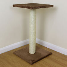 Brown Cat/Kitten Extra Large Sisal Scratching/Scratcher Post/Tree/Pole Platform