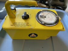 Vintage radiation meter - ion chamber By The Victoreen Instrument Company.