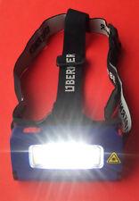 Berner 335506 Led Professionnel Lampe de tête Pile Torche via Port USB Chargé
