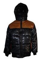 New Boys Coat School Padded Hooded Jacket Age 3 6 8 9 10 12 14 Years Waterproof