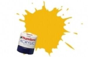 Humbrol BR Yellow #407 Acrylic 14ml