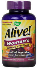 Alive Women's Gummy Vitamins, Nature's Way, 75 gummies