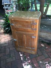 Vintage Timber Ice Chest Fridge