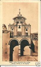 cm 131 Anni 35 - CAPRI (Napoli) - Campanile -non viagg, - FP  Ed.Alterocca