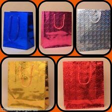 Holographic Gift Bags Party Weddings Birthdays All Sizes And Colours