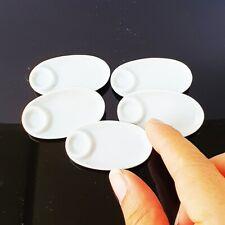 Casa de muñecas en miniatura accesorios 4 1:12 Cuadrado Blanco spotted Placas De Cerámica