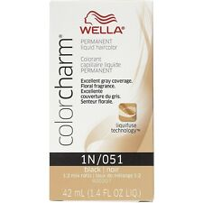 Wella Color Charm Liquid Haircolor 1n/51 Black, 1.4 oz (Pack of 2)