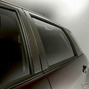 Scion xA 2004 - 2006 Carbon Fiber B-Pillar Applique - OEM NEW!