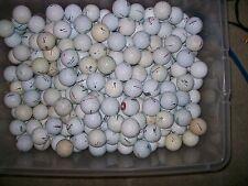 100 Aa Shag/Practice Golf Balls, Callaway, Titleist, Nike Used Golf Balls