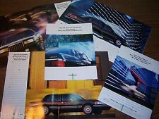 "MINT ORIGINAL 1992 LINCOLN BROCHURE CONTINENTAL TOWN & MARK VII 8"" X 11"" (BOX226"