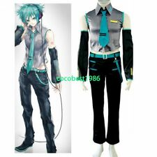 Vocaloid Hatsune Mikuo Halloween Cosplay Costume any size Trousers Belt Shirt