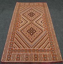 Orient Teppich Berber 227 x 128 cm Alter Kelim Kilim Handgewebt Carpet Rug Tapis